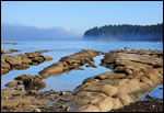 "Photograph by Terrill Welch of ""Reef Bay"" on Mayne Island."