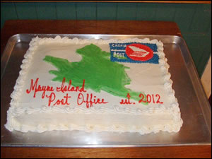 Mayne Island Postal Celebration
