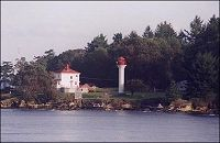 The Lighthouse taken from the Ferry.